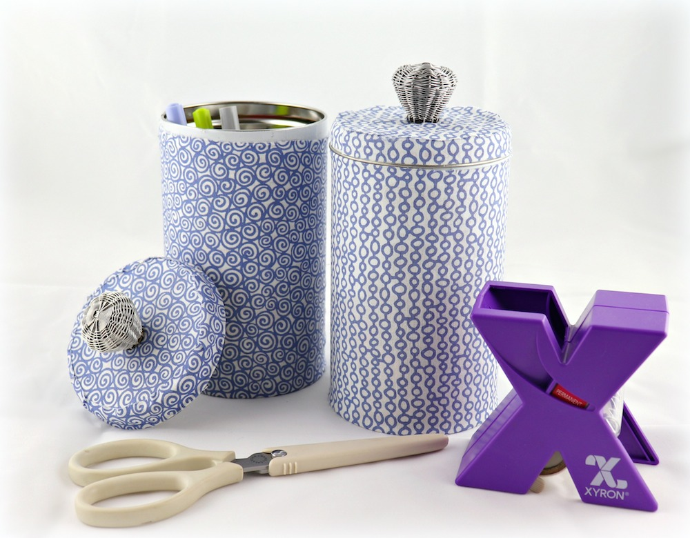 recycled tin storage