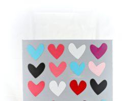 heart wall art DIY tutorial