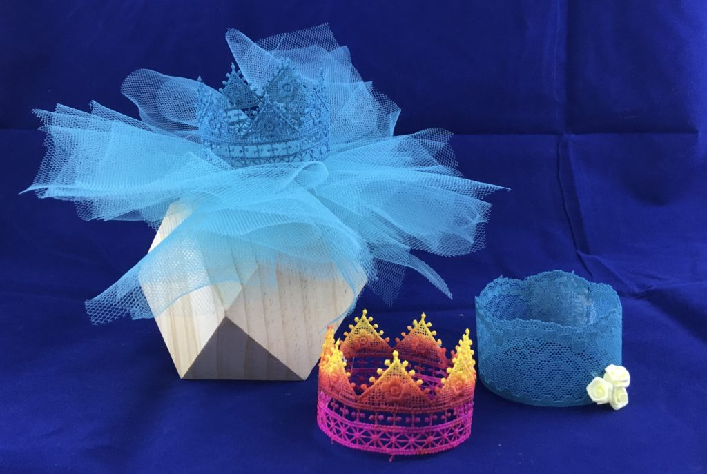 Mod Podge Ultra Lace crown