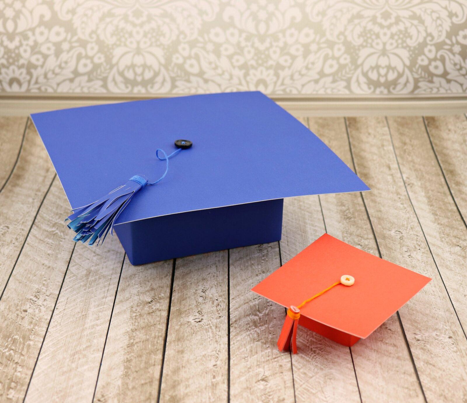 Graduation Hat Gift Boxes Tutorial