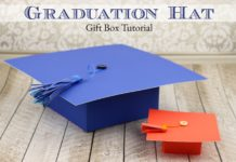 Graduation Hat Gift Boxes Tutorial