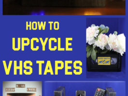 what can I make with old VHS tapes?